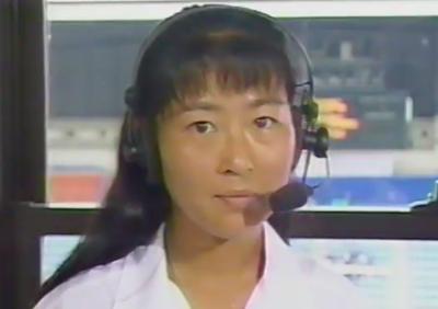 沢松奈生子(テニス)の昔の写真1