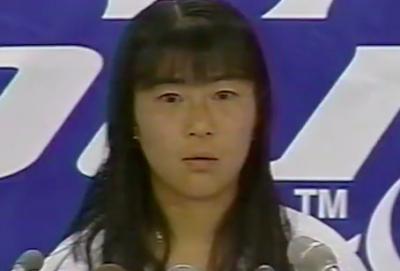 沢松奈生子(テニス)の現役時代の画像