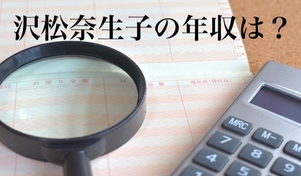 沢松奈生子の年収