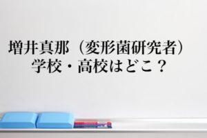 増井真那の高校について