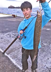 西野勇馬(深海魚ハンター)の釣った魚1