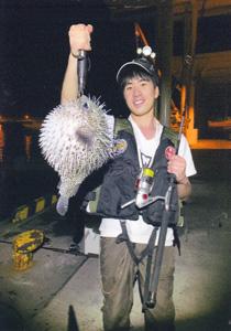 西野勇馬(深海魚ハンター)の釣った魚3